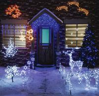 Televideo caccia alla renna reale - Renna natalizia luminosa per giardino ...