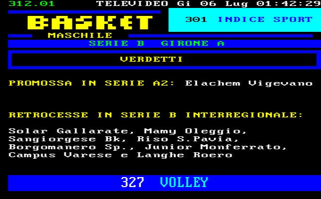 Basilicata Calcio a 5 Serie C1 Girone Unico Risultati