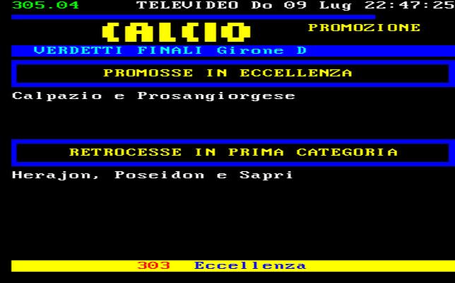 Campania Calcio Promozione Girone D Risultati