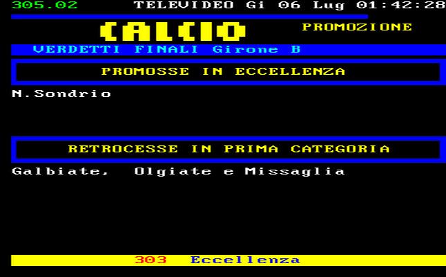 Lombardia Calcio Promozione Girone B Risultati