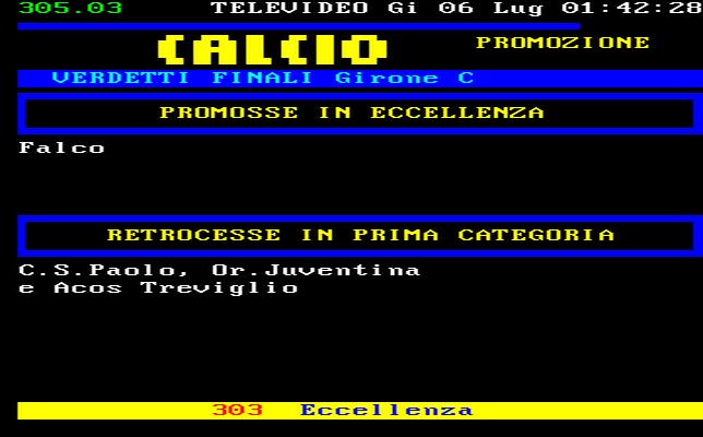 Lombardia Calcio Promozione Girone C Risultati