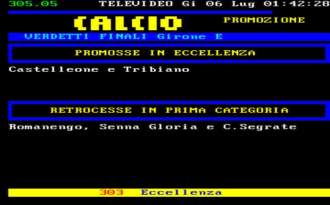 Lombardia Calcio Promozione Girone E Risultati