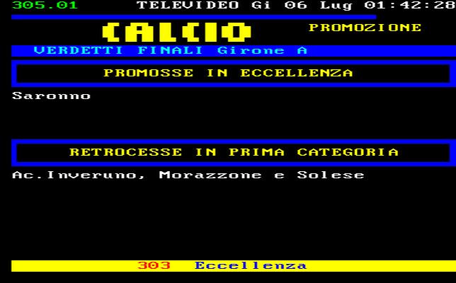 Lombardia Calcio Promozione Girone A Risultati