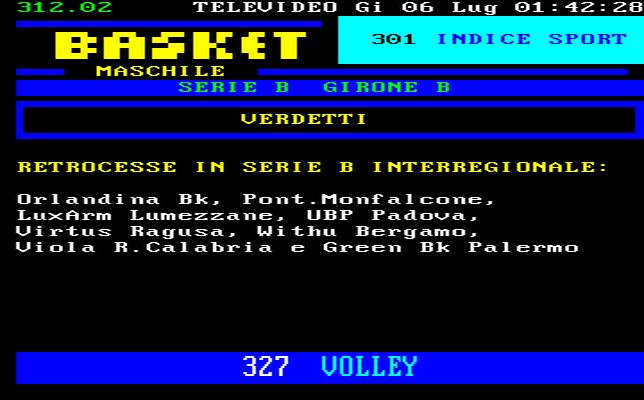 Molise Calcio a 5 Serie C1 Girone Unico Classifica