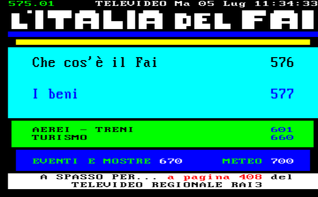 Televideo RAI