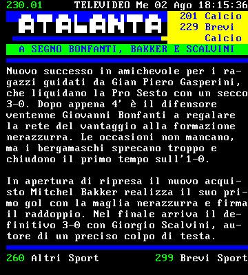 News Atalanta