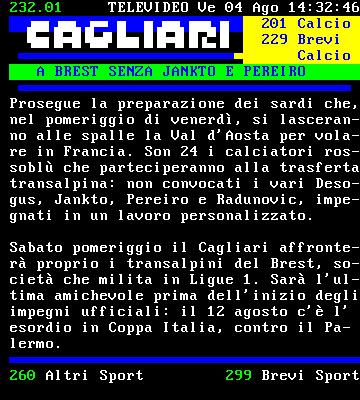 News Cagliari