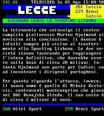 News Milan
