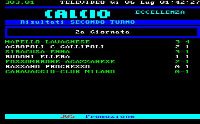 Puglia Calcio Eccellenza Girone A Risultati