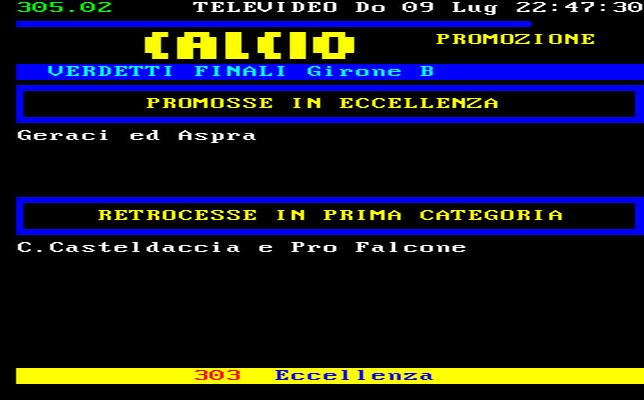 Sicilia Calcio Promozione Girone B Risultati