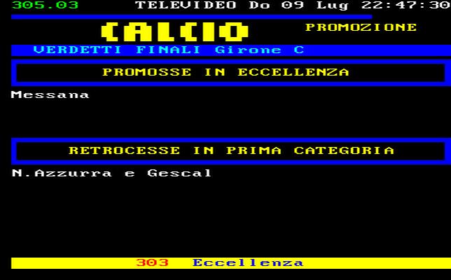 Sicilia Calcio Promozione Girone C Risultati